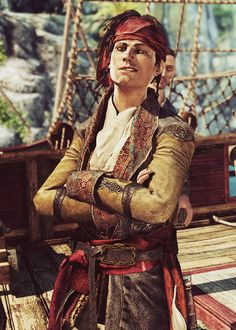 AC4: Black Flag - James Kidd I LOVE THIS PERSON SO MUCH I CAN'T EVEN UGH