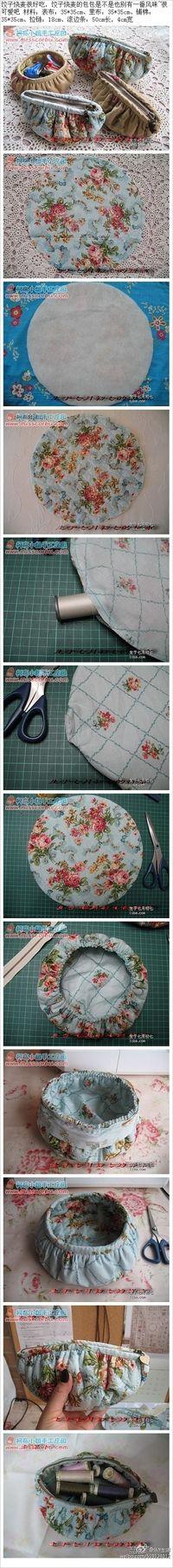Cute dumpling purse