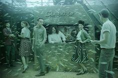 Andreas Franke's Haunting And Surreal Series Imagines Underwater Shipwrecks Full of Life
