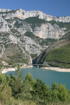 Les gorges du Verdon, Provence.
