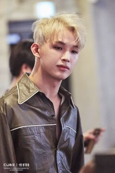 "[Star cast] of BtoB Hyunsik back with a new look ""NEW MEN"" behind jacket shoot! Naver Entertainment: TV"