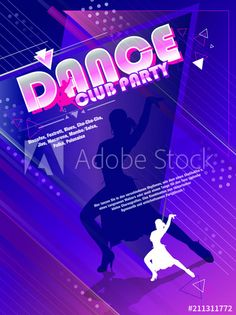 Neon Signs, Dance, Club, Illustration, Party, Dancing, Illustrations, Receptions, Direct Sales Party