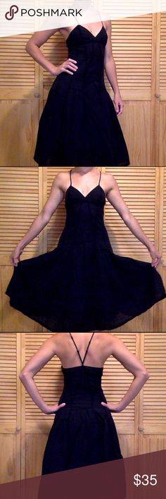 Armani Exchange cotton dress 2 Gently worn. Great condition. Lots of life. Very sexy! Also have a white dress of the same style size 4. Nordstrom Dresses Strapless