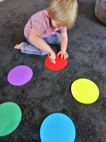 Follow us on Pinterest               Here is a great game for  toddlers  to help them learn and  identify colours  (colors) whilst getting ...