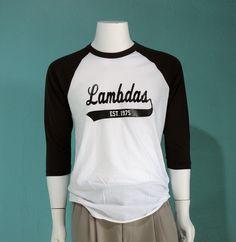 Lambda Sports Swoosh Tee | Lambda Theta Phi