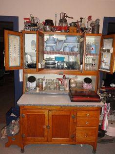 52 Hoosier Kitchen Cabinet ideas | hoosier cabinet ...