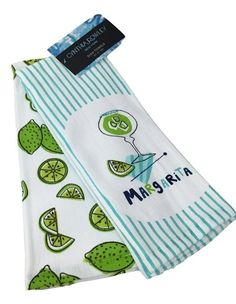 Cynthia Rowley Kitchen Towels Healthy Lifestyle 100% Cotton Set Of 2 Nwt | Cynthia  Rowley And Towels