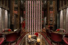 A Lady in Camelia Bar Lounge by Four Seasons Hotel Pudong, Shanghai, via Flickr