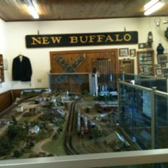 New Buffalo Railroad Museum, Harbor Country Michigan.