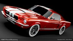 1967 Ford Mustang is my Collector possession car working on getting my own in a few more years!