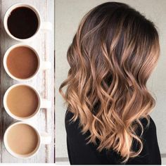 50 Awesome Light Brown Hairstyle Ideas to Find a Look that Fits Your Style Perfe., Frisuren,, 50 Awesome Light Brown Hairstyle Ideas to Find a Look that Fits Your Style Perfectly Source by . Brown Hair Balayage, Brown Blonde Hair, Dark Hair, Light Brown Ombre Hair, Ombre Brown, Balayage Highlights, Carmel Highlights, Honey Balayage, Light Ombre