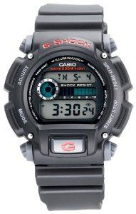 The simply designed Casio G-Shock Classic digital watch for men offers  shock resistance that s great for your most vigorous sporting activities. d31fe7bee7
