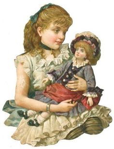 girl and doll