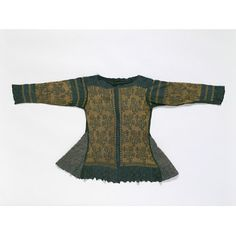 Jacket made in Italy (possibly) in silk and silk with silver.  1600-1625  Just out of period