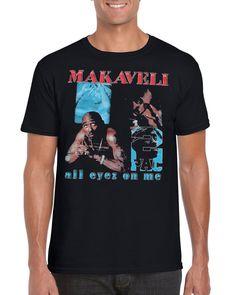 b40b3d5b New Makaveli Vintage Rap Mens T Shirt Black Men's All Sizes M To 3XL TT92 -