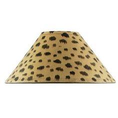 Lampskärm leopardmöster