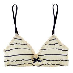 Eberjey Coastal Stripes Bralet