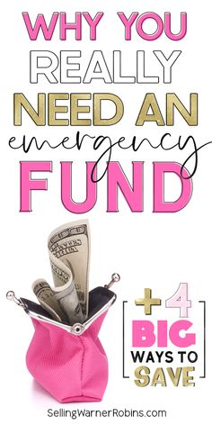 Life tends to surprise us occasionally, so it's best to be prepared when it does! It's really important to have a financial plan for life's surprises and the best way to do that is by having an emergency fund. Check out the 4 best ways to budget and save money to create a substantial emergency fund so you're prepared the next time something goes awry. #personalfinancetips #monegmanagement Plan For Life, Real Estate Buyers, Home Buying Process, Real Estate Information, Looking To Buy, Financial Planning, Ways To Save, Personal Finance, Saving Money