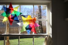 I want to share a simple tutorial walking you through the steps to make Waldorf window stars to give your home more color and beauty this season. Aren't they lovely? The kids and I learned how to make them at school and we've been folding and glueing more at home ever since. I love…