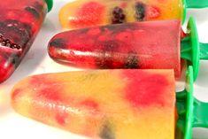 Zelfgemaakte ijsjes met zomerfruit - Lekker en Simpel