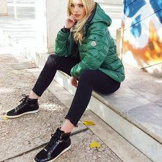 SWAG ✌ #monclerjacket #moncler #monclerbady #jimmychoo #hightops #sneakers #shoes #shoelover #shoeporn #sneakerhead #streetfashion #streetstyle #ootd #outfitoftheday #outfit #style #luxury #lifestyle #luxurylifestyle #shopping #secondhand #starbags_eu #athens #kolonaki