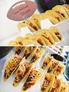 Football Party Food: Touchdown Tacos #FritoLayGameDay