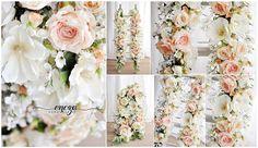 flower garlands, photo props