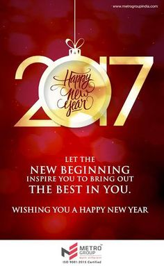 Metro Group wishes you all a very Happy New Year  www.metrogroupindia.com  #NewYear2017 #Celebration #Occasion