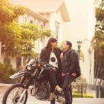 Sesión de compromiso, e-session, urbana, pareja, Urban, Pre-boda, pre-wedding, motorcycle, Engagement session