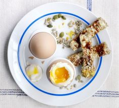Dippy eggs with Marmite soldiers    Start the day the right way, with this quick, easy and nutritious breakfast