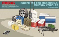 MMSPS014 1:35 Meng Equipment for Modern US Military Vehicles