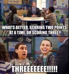 Steph curry and klay thompson funny basketball memes, funny sports memes, nba funny, Funny Nba Memes, Funny Basketball Memes, Basketball Is Life, Nfl Memes, Basketball Quotes, Basketball Pictures, Really Funny Memes, Basketball Stuff, Funny Stuff