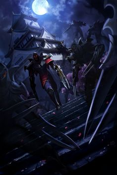 Zed, the Master of Shadows (Himeji Castle♥)