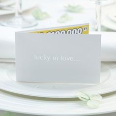 White/Silver In Love Scratch Card Holder Pk10: Amazon.co.uk: Toys & Games Wedding Favours, Favors, Place Cards, Place Card Holders, Amazon, Games, Toys, Silver, Activity Toys