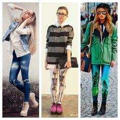 My Look mn: Tendência: As novas leggings.
