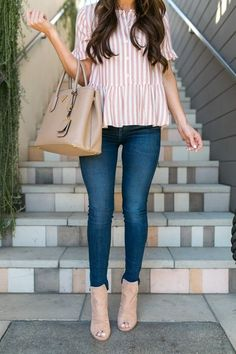 Spring and Summer Fashion Casual Chic Style, Cute Casual Outfits, Look Fashion, Winter Fashion, Mode Outfits, Fashion Outfits, Urban Chic, Casual Looks, Spring Outfits