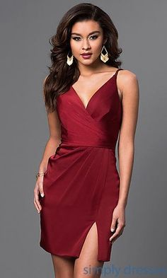 Shop backless Faviana semi-formal dresses and homecoming dresses at Simply Dresses. Sweet-16 dresses and wedding-guest designer dresses.