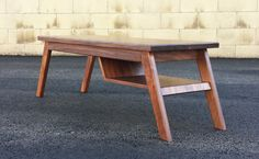 Mid century modern table basse, moderne table basse, table basse, danois moderne, table