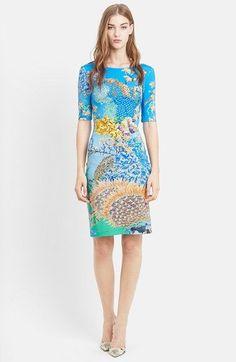 Mary Katrantzou Ocean Print Body-Con Jersey Dress available at #Nordstrom