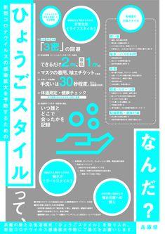 兵庫県/新型コロナウイルス感染症の感染拡大防止に向けたポスター「ひょうごスタイル」の提供 Hyogo, Design, Design Comics