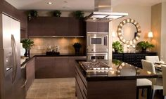 contemporary yet classic #kitchen