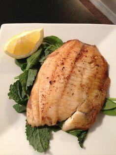 Garlic Lemon Fish