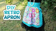 DIY Retro Half Apron Tutorial - Whitney Sews