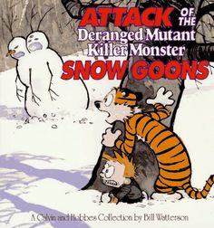 Calvin and Hobbes are the best!!