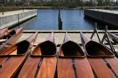 The Struer kayaks. Beautiful craftsmanship.