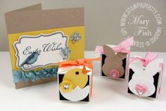 Pals Hop and NEW Petal Card Box Video! - Stampin' Up! Demonstrator - Mary Fish, Stampin' Pretty Blog,   Stampin' Up! Card Ideas & Tutorials  Petal Punch SU