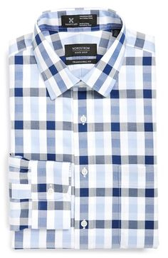 Nordstrom Smartcare™ Traditional Fit Check Plaid Dress Shirt available at #Nordstrom