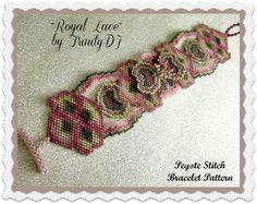 BP-FLO-120-2016-092 Royal Lace Brick Stitch por TrinityDJ en Etsy
