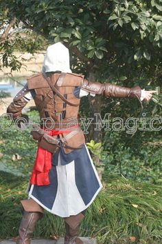 Assassin's Creed IV: Black Flag Edward Kenway Cosplay Costumes