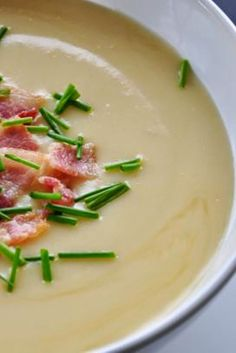 Potato Chowder | Another of my aunt's recipes. Great for those cold nights.